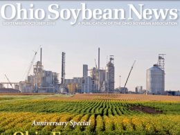 Ohio Soybean News, Sept-Oct 2016 cover image
